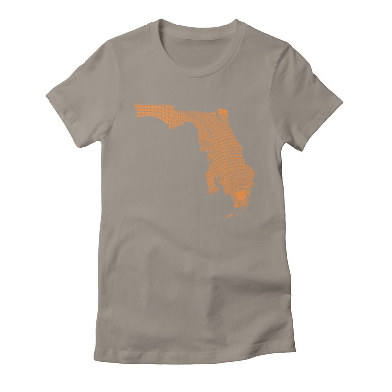 Florida Gator 2 Women's Fitted T-Shirt by Jason McDade