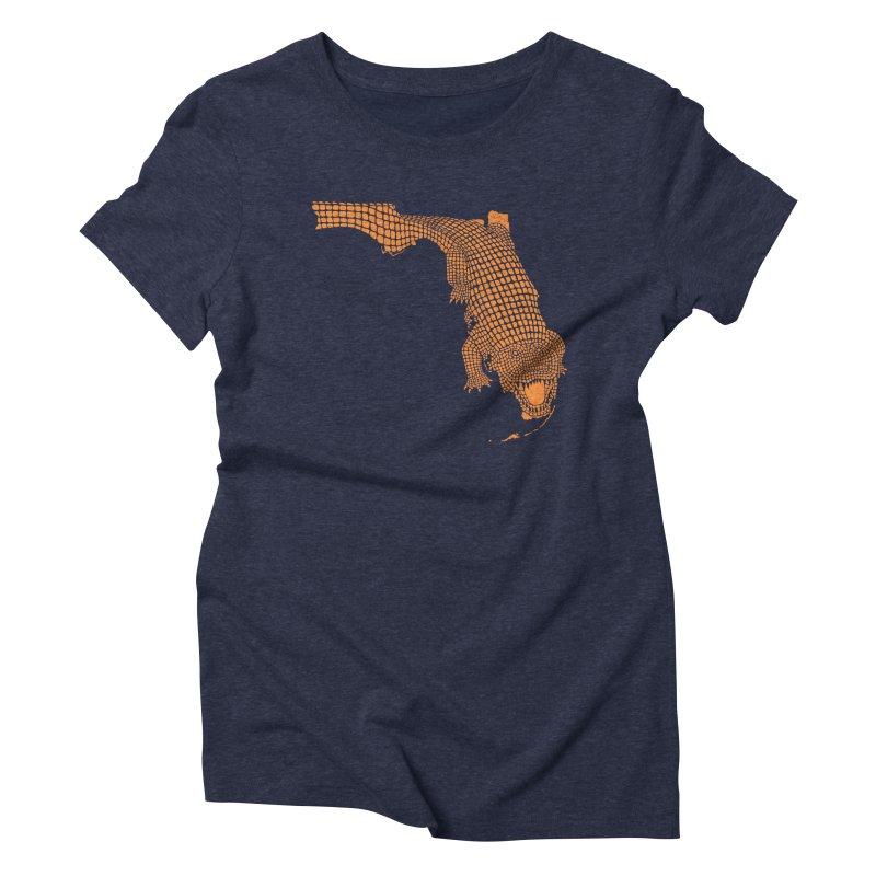 Florida Gator 2 Women's Triblend T-shirt by Jason McDade