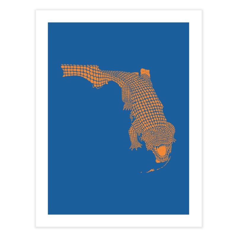 Florida Gator 2 Home Fine Art Print by Jason McDade