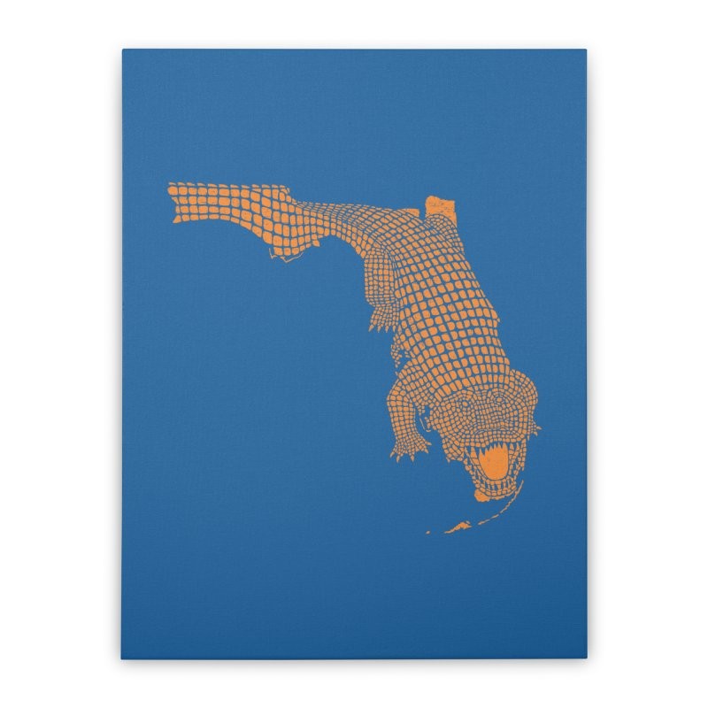 Florida Gator 2 Home Stretched Canvas by Jason McDade
