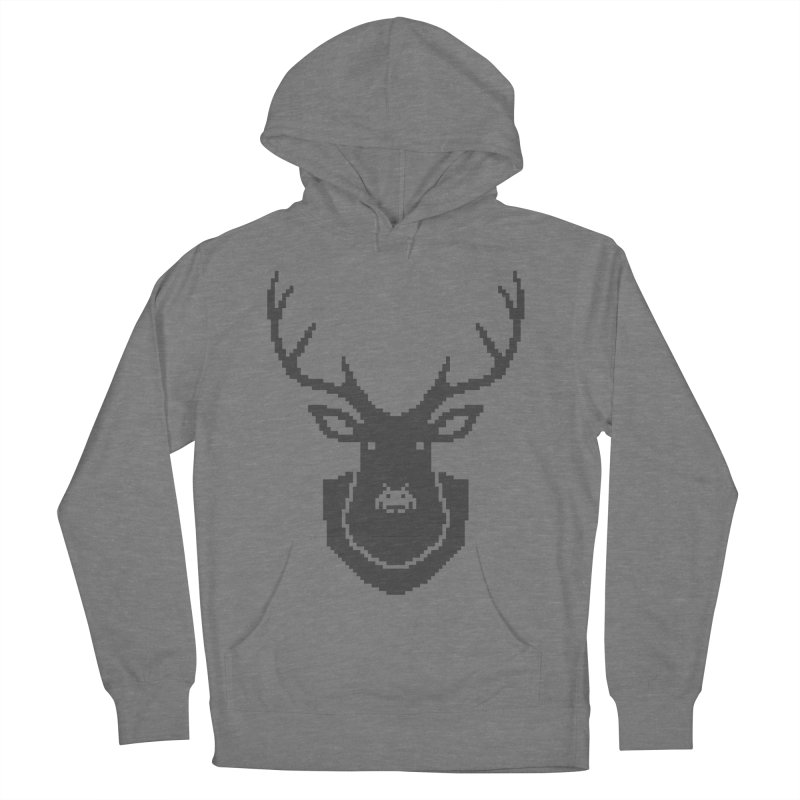 Big Game Hunting Women's French Terry Pullover Hoody by Jason McDade