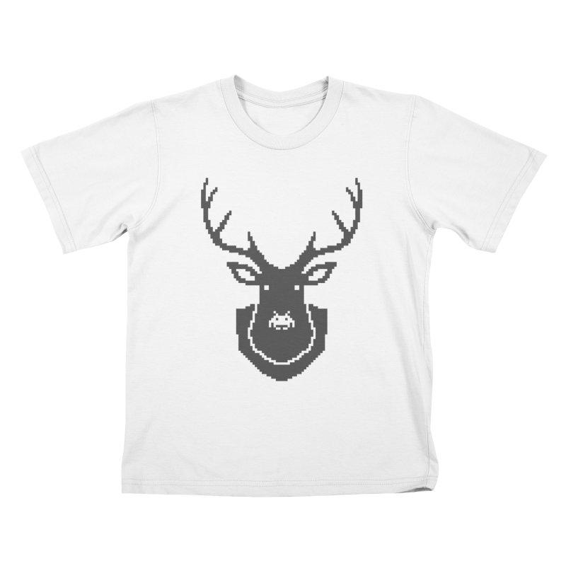 Big Game Hunting Kids T-shirt by Jason McDade