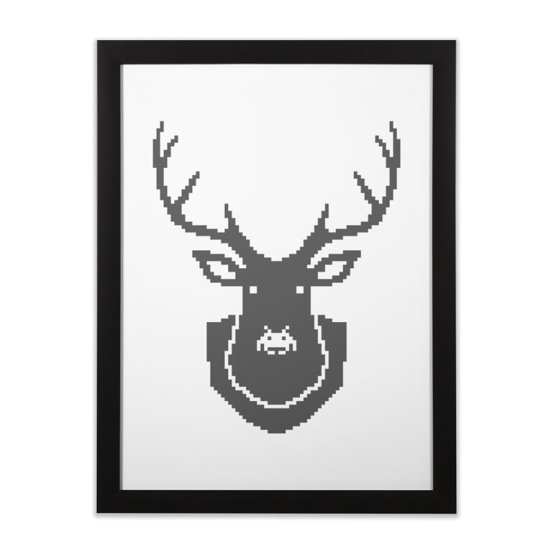 Big Game Hunting Home Framed Fine Art Print by Jason McDade