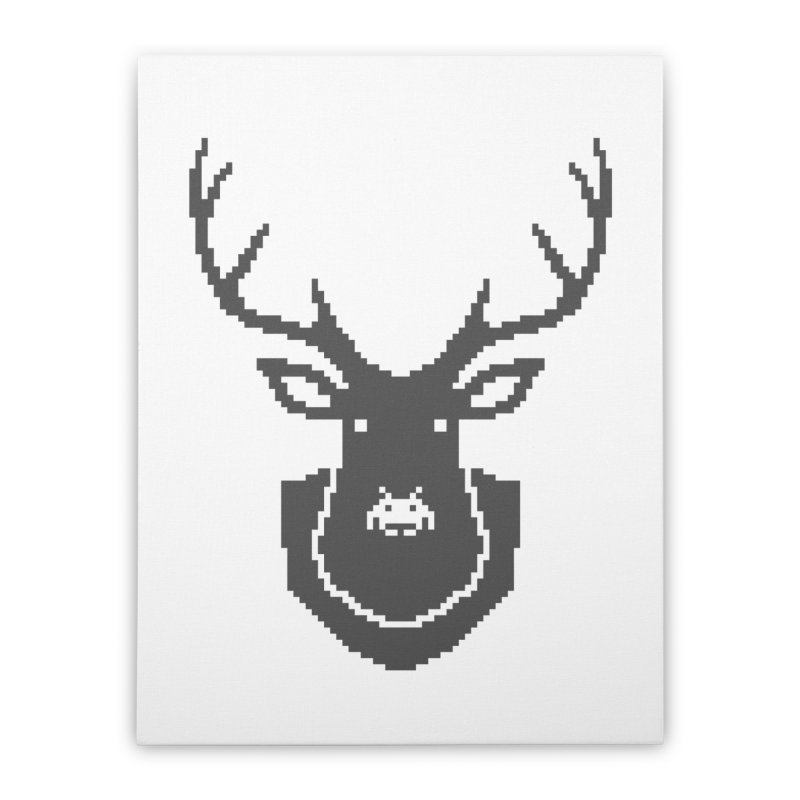Big Game Hunting Home Stretched Canvas by Jason McDade
