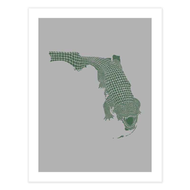 Florida Gator Home Fine Art Print by Jason McDade