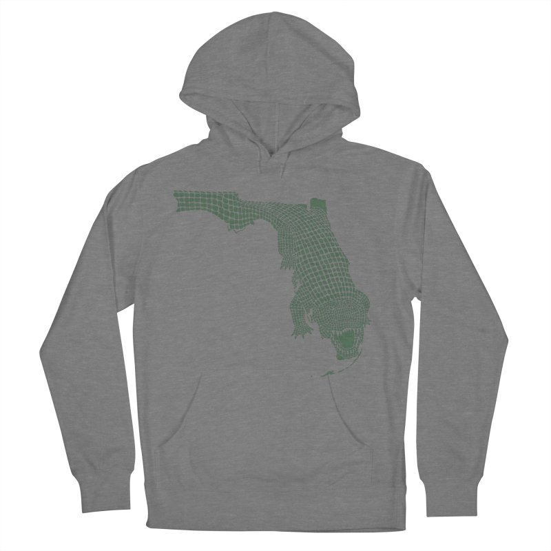 Florida Gator Women's French Terry Pullover Hoody by Jason McDade