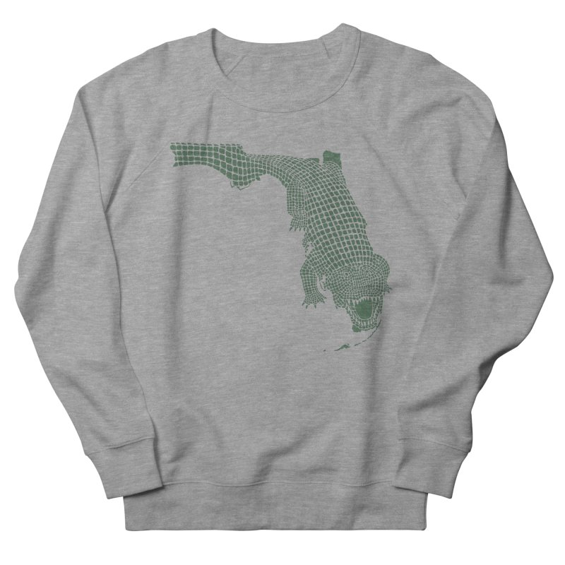 Florida Gator Men's Sweatshirt by Jason McDade