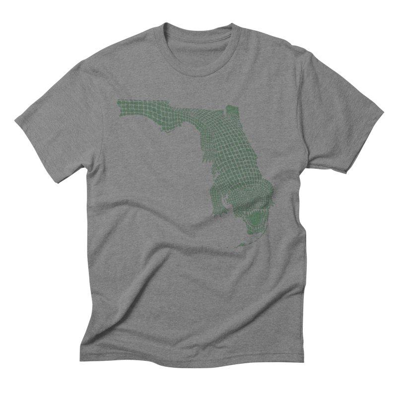 Florida Gator Men's Triblend T-shirt by Jason McDade