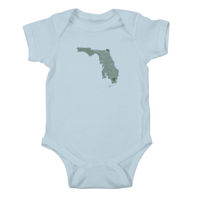 Florida Gator Kids Baby Bodysuit by Jason McDade