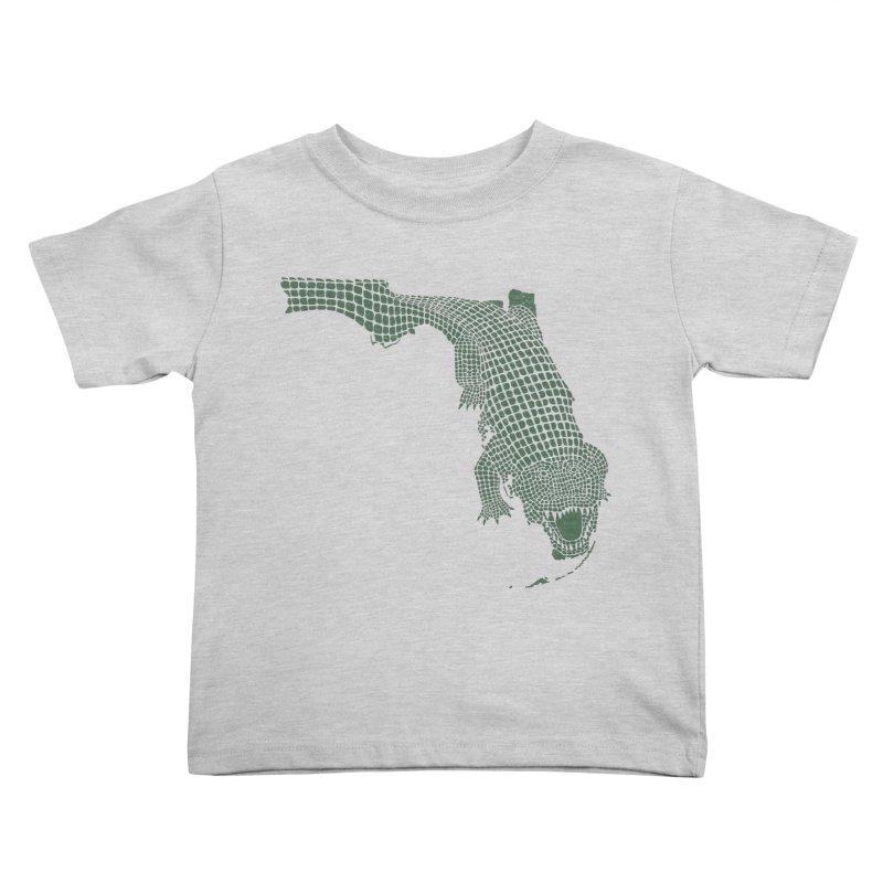 Florida Gator Kids Toddler T-Shirt by Jason McDade