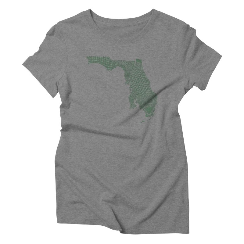 Florida Gator Women's Triblend T-Shirt by Jason McDade