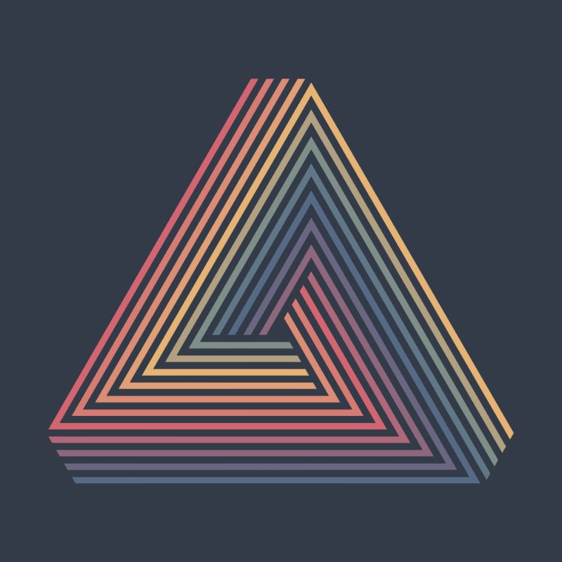 Penrose Triangle None  by Jason McDade