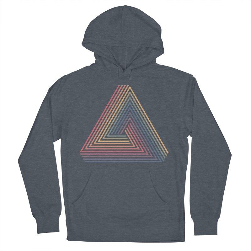 Penrose Triangle Men's Pullover Hoody by Jason McDade