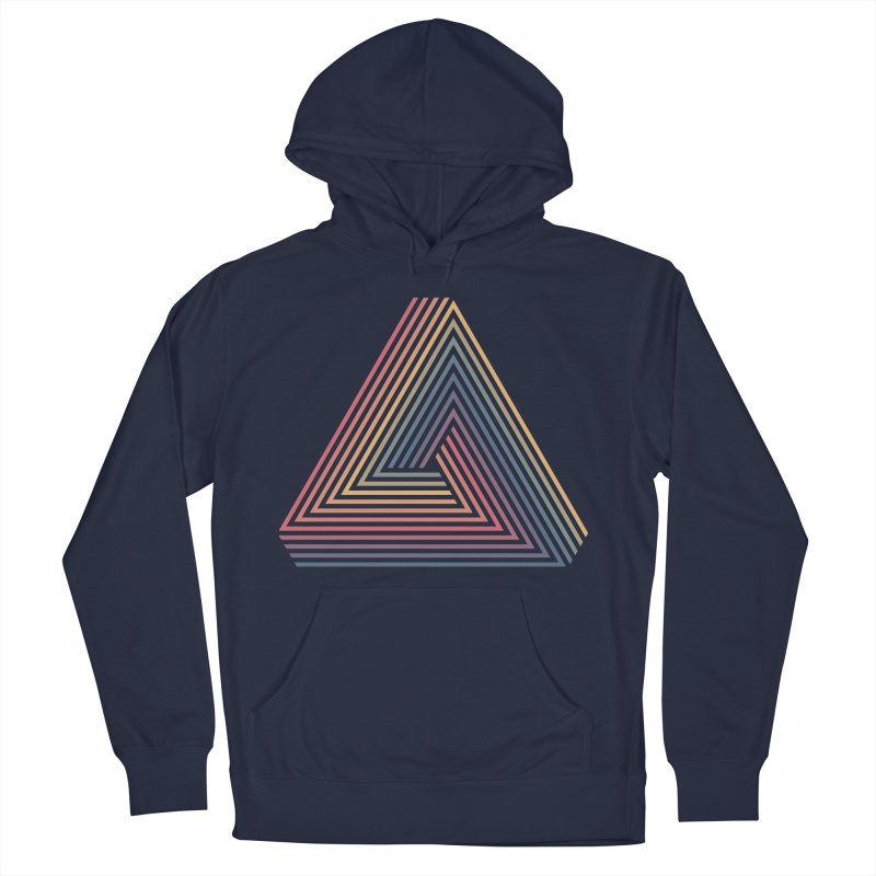 Penrose Triangle Men's Pullover Hoody by Jason McDade