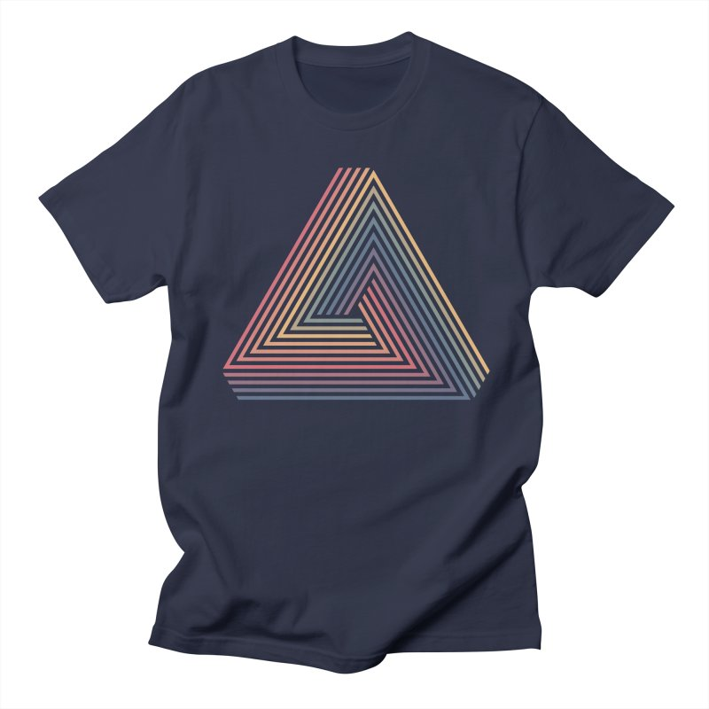Penrose Triangle Men's T-Shirt by Jason McDade
