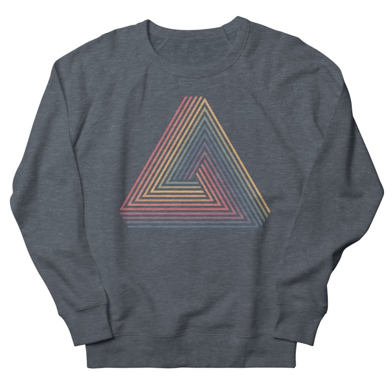 Penrose Triangle Women's French Terry Sweatshirt by Jason McDade