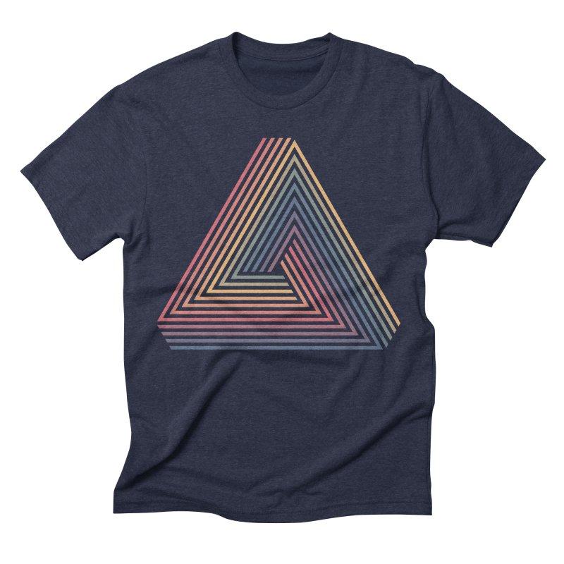Penrose Triangle Men's Triblend T-shirt by Jason McDade