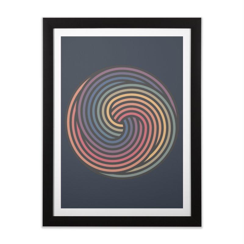 Penrose Spiral Home Framed Fine Art Print by Jason McDade