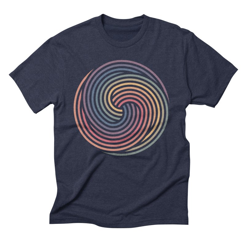 Penrose Spiral Men's T-Shirt by Jason McDade