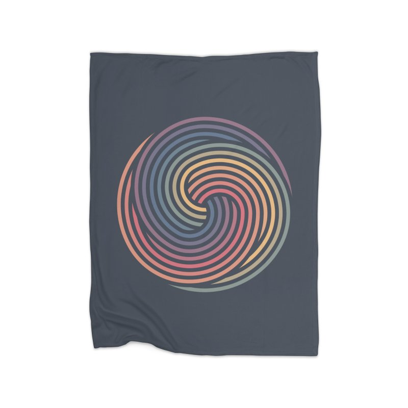 Penrose Spiral Home Blanket by Jason McDade