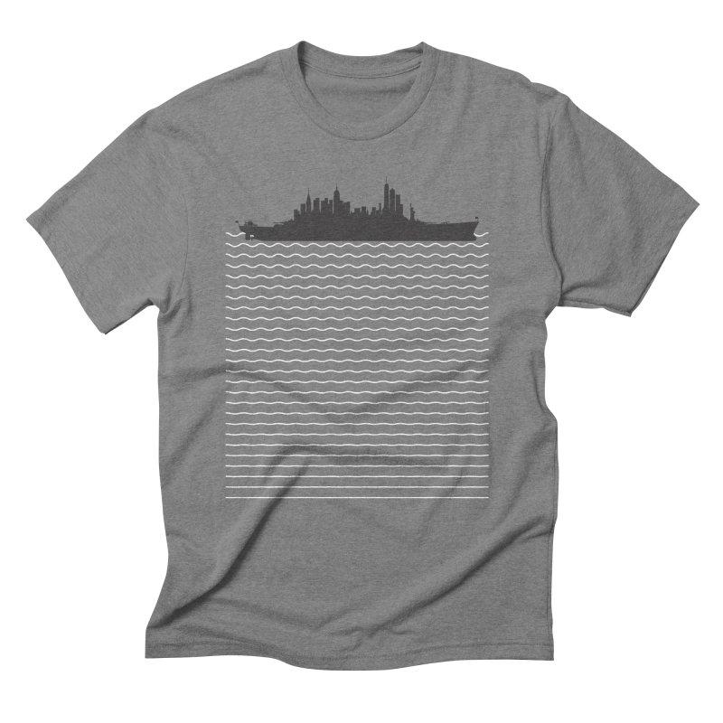 U.S.S. NYC Men's T-Shirt by Jason McDade
