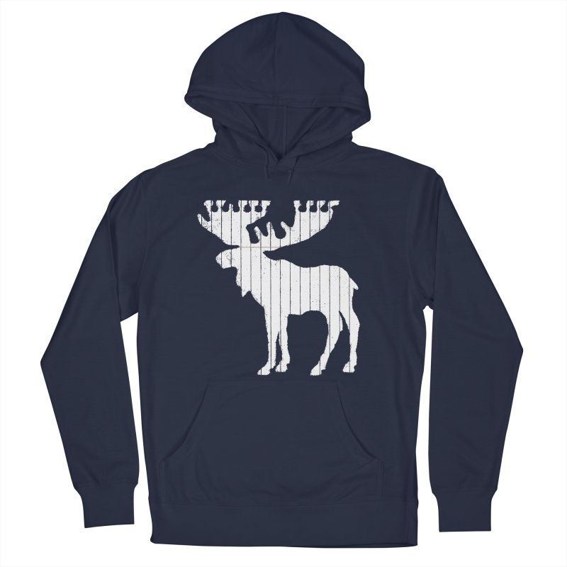 Moose Leaf Men's Pullover Hoody by Jason McDade