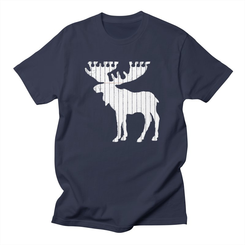Moose Leaf Men's T-Shirt by Jason McDade