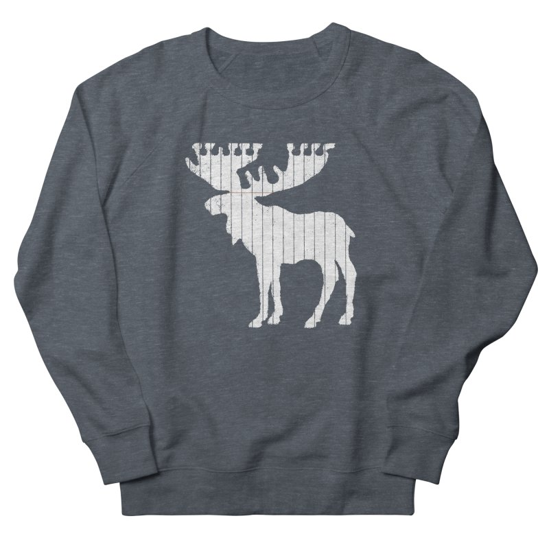 Moose Leaf Women's Sweatshirt by Jason McDade