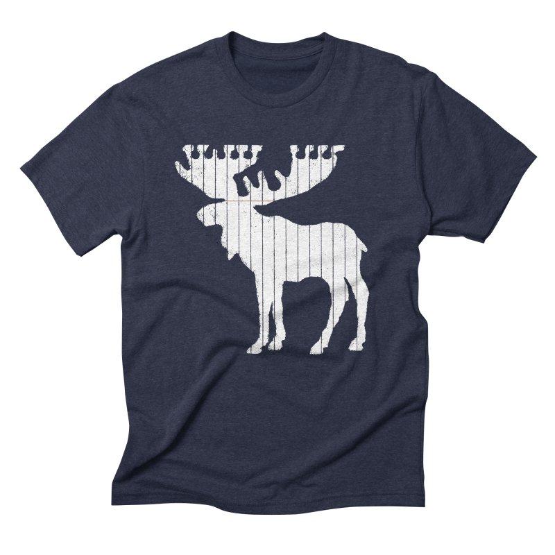 Moose Leaf Men's Triblend T-shirt by Jason McDade