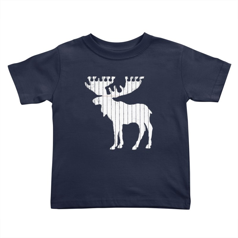 Moose Leaf Kids Toddler T-Shirt by Jason McDade