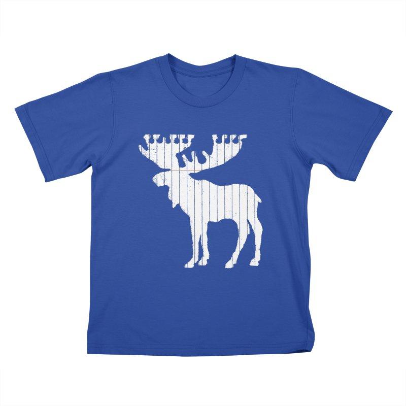Moose Leaf Kids T-shirt by Jason McDade
