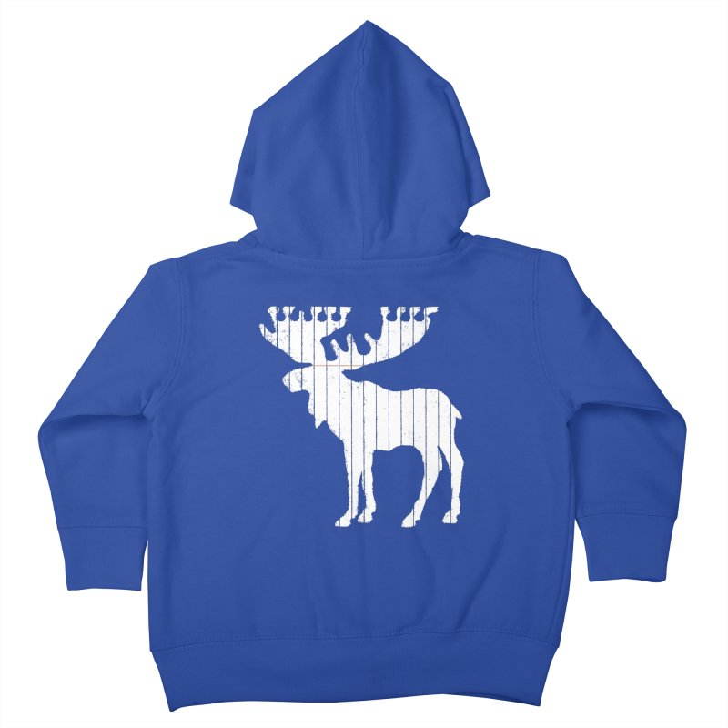 Moose Leaf Kids Toddler Zip-Up Hoody by Jason McDade