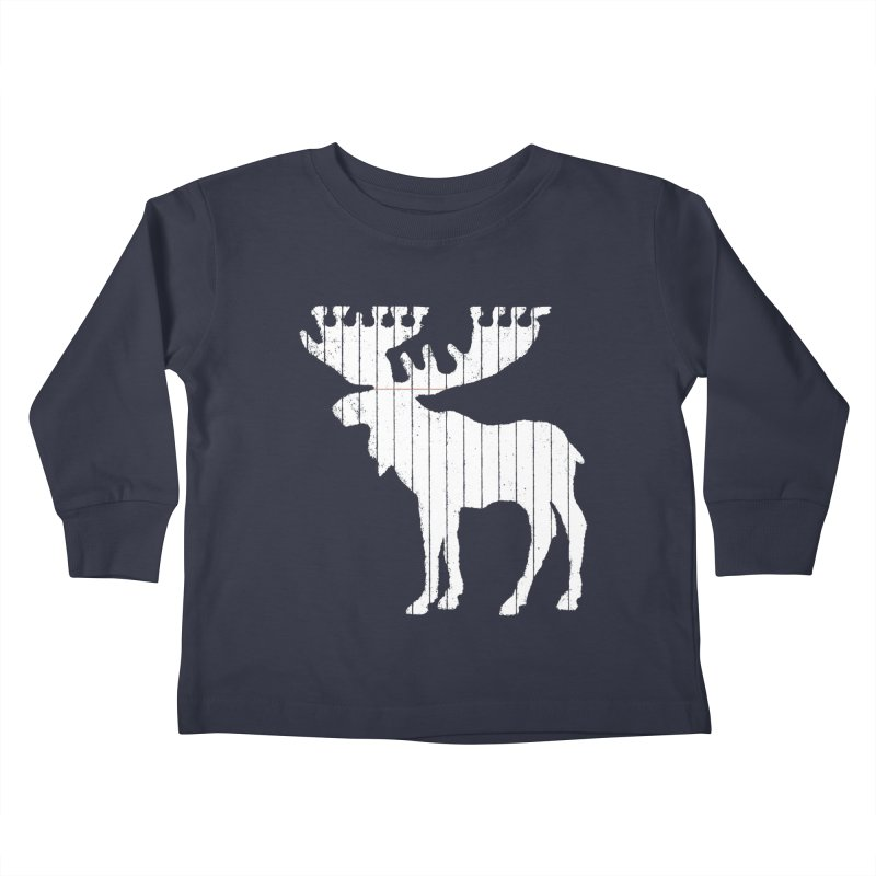 Moose Leaf Kids Toddler Longsleeve T-Shirt by Jason McDade