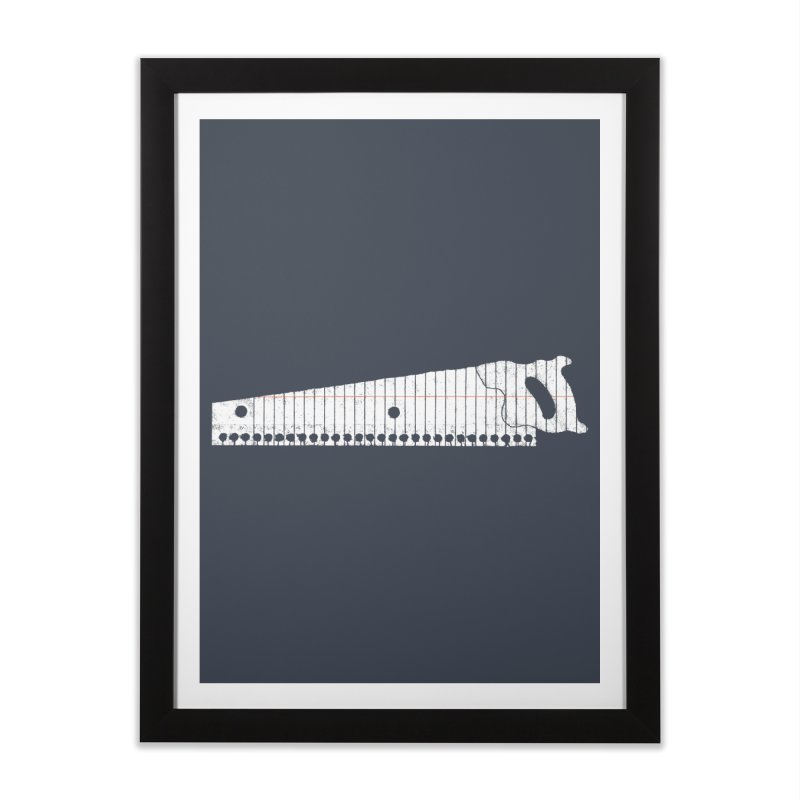 Paper Cut Home Framed Fine Art Print by Jason McDade