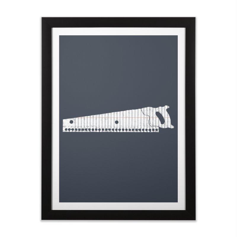 Paper Cut Home Framed Fine Art Print by Jason McDade