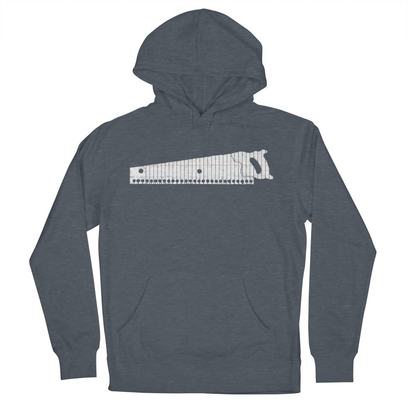 Paper Cut Women's French Terry Pullover Hoody by Jason McDade