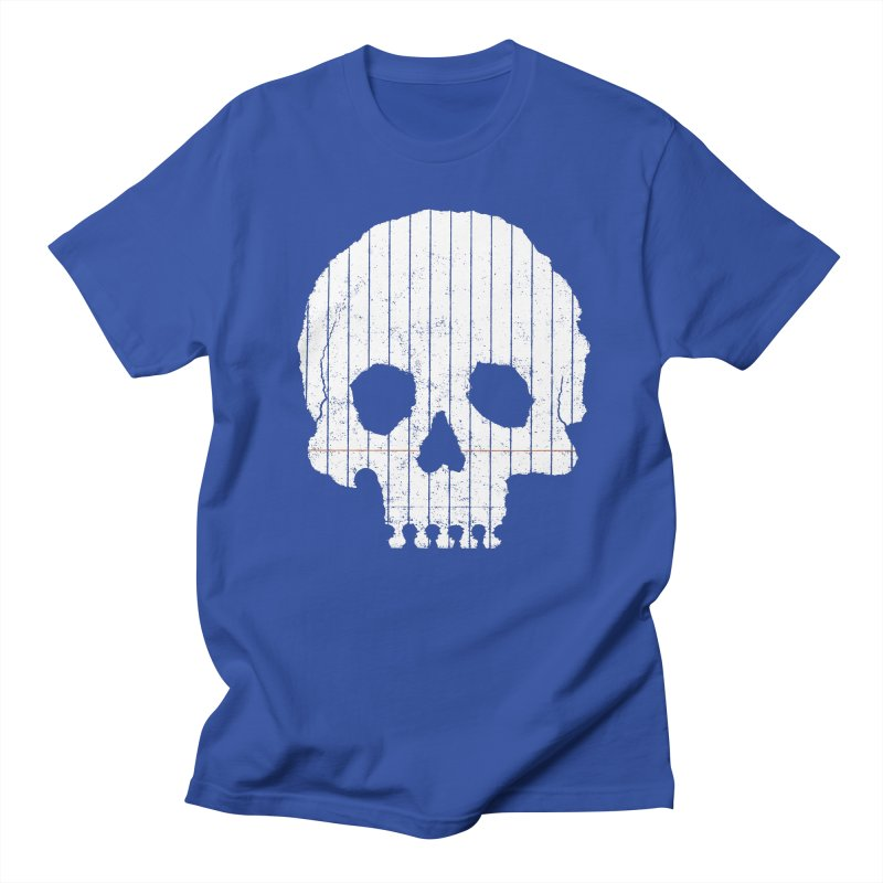 Paper Skull Men's T-Shirt by Jason McDade