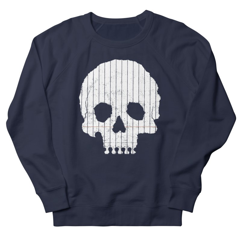 Paper Skull Women's Sweatshirt by Jason McDade