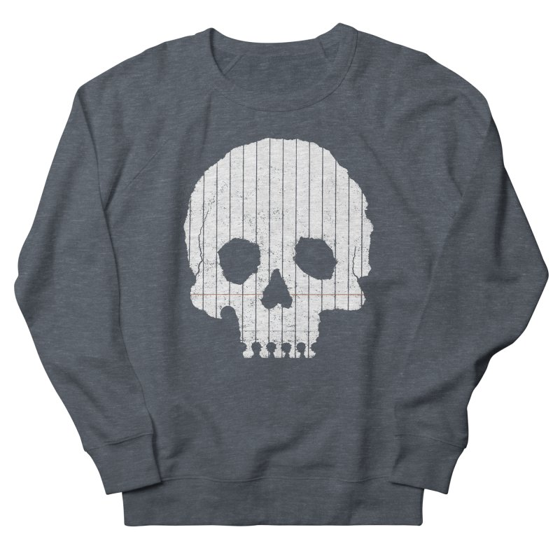 Paper Skull Men's Sweatshirt by Jason McDade
