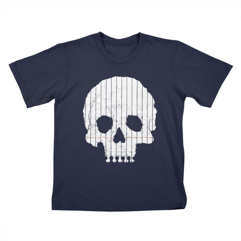 Paper Skull Kids T-shirt by Jason McDade