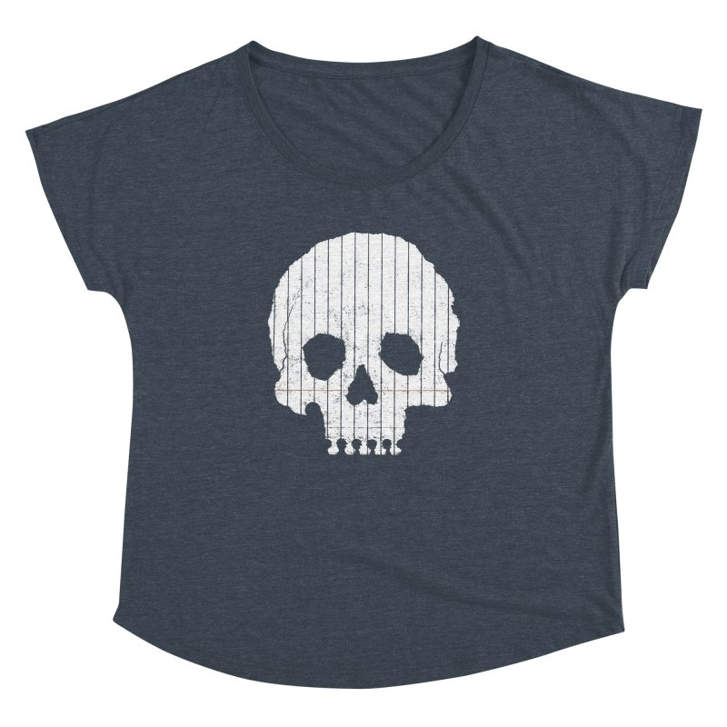 Paper Skull Women's Dolman by Jason McDade