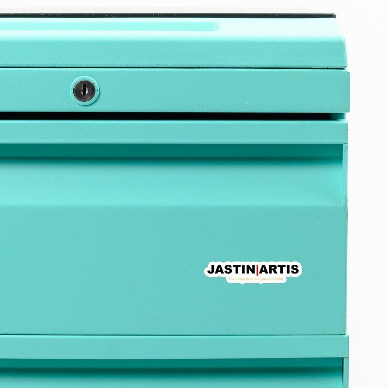 Jastin Artis Apparel (Black) Accessories Magnet by Artis Shop