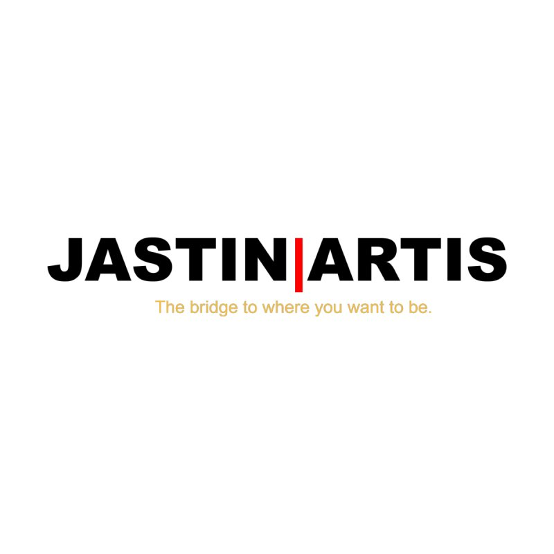 Jastin Artis Apparel (Black) Men's T-Shirt by Artis Shop