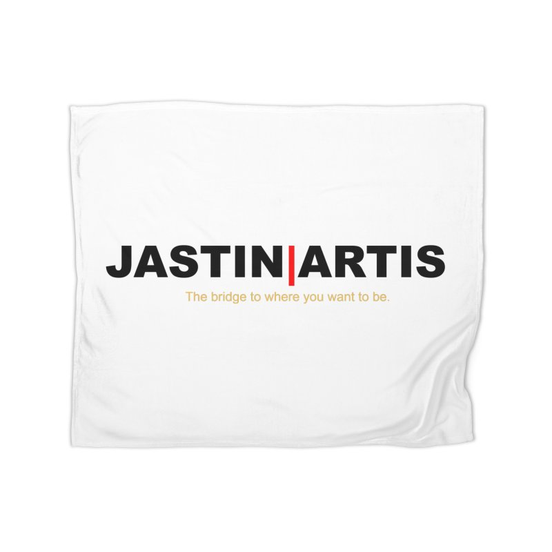 Jastin Artis Apparel (Black) Home Blanket by Artis Shop