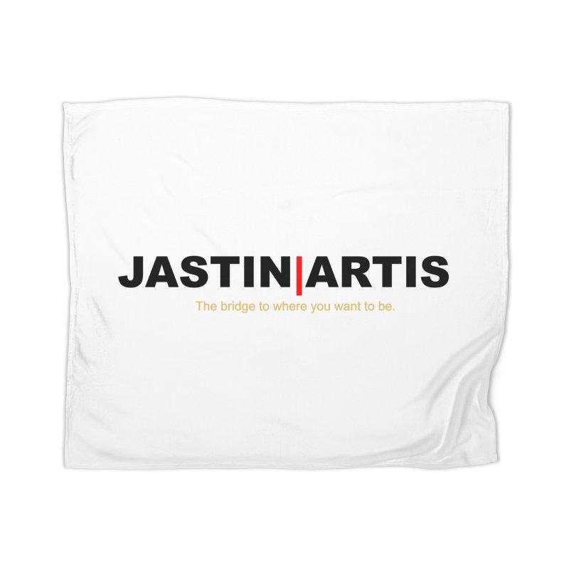 Jastin Artis Apparel (Black) Home Blanket by Artis Shop