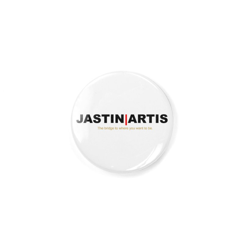 Jastin Artis Apparel (Black) Accessories Button by Artis Shop