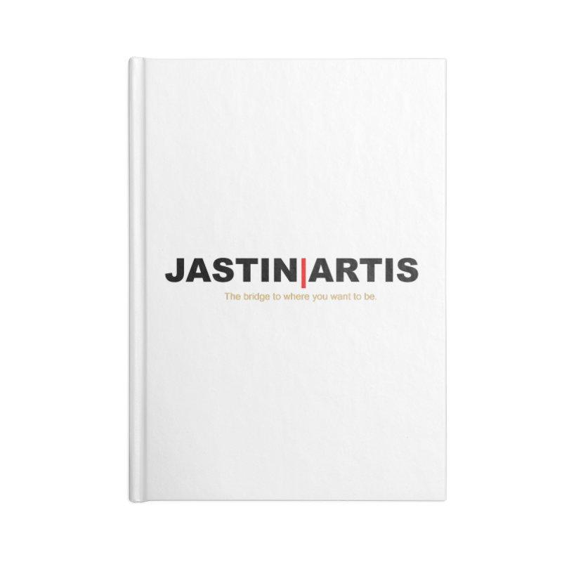 Jastin Artis Apparel (Black) Accessories Notebook by Artis Shop