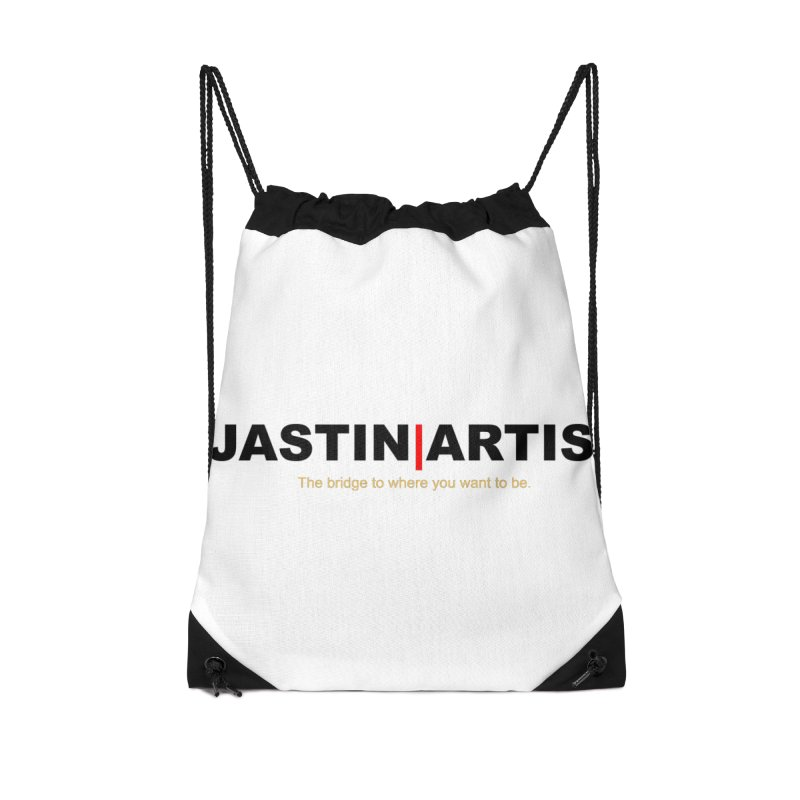 Jastin Artis Apparel (Black) Accessories Bag by Artis Shop