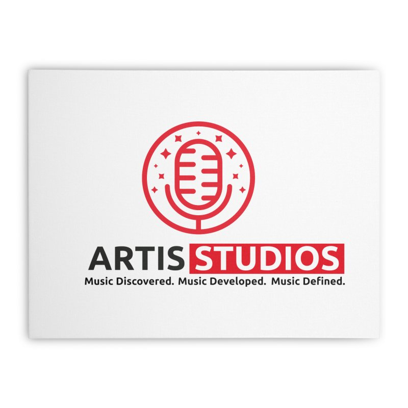 Artis Studios Home Stretched Canvas by Artis Shop