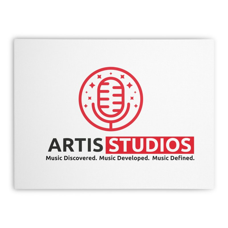 Artis Studios Home Stretched Canvas by Artis Shop